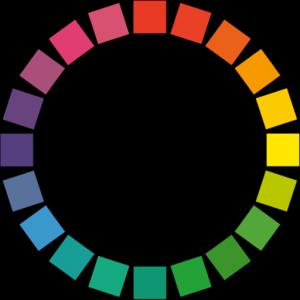 反対色・補色(ほしょく)相関表